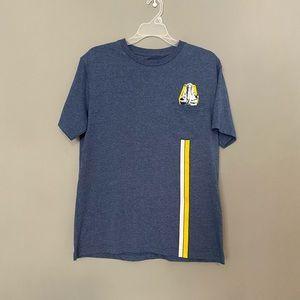 Star Wars S Blue Millenium Falcon Graphic Tshirt
